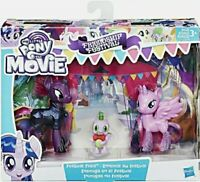 My Little Pony Movie Festival Foes Twilight Sparkle Spike Tempest Shadow NEW