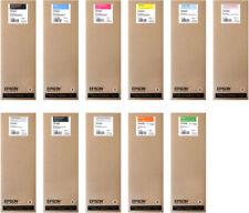 11 x Original Tinte Epson Stylus Pro 7900 9900 je 700ml T6361 -T6369 Cartridge