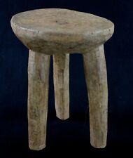 Art Africain - African Stool - Remarquable Tabouret Lobi Ancien & Usuel - 30 Cms