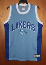 4301012dede Los Angeles Lakers Hardwood Classic Majestic NBA Basketball Throwback Jersey  Lg