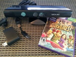 Microsoft Xbox 360 S Kinect Sensor With Game Complete Bundle TESTED & WORKS