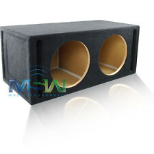 "DUAL PORTED 12"" ROUND MDF CAR AUDIO SPEAKER BOX SUB WOOFER SUBWOOFER ENCLOSURE"