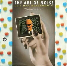 """THE ART OF NOISE/MAX HEADROOM paranoimia/why me WOK 9 uk china 1986 7"""" PS EX/EX"""
