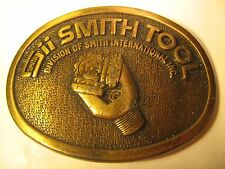 Vintage Belt Buckle SMITH TOOL Division of Smith International Inc [Y115]