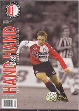 Programme / Magazine Feyenoord Rotterdam Magazine Hand in Hand no.2 Maart 2004