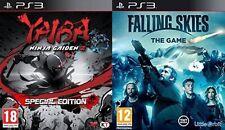 Yaiba Ninja Gaiden Z - Special Edition & falling skies PS3 PAL  new&sealed
