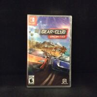 Gear.Club Unlimited  (Nintendo Switch) BRAND NEW / Region Free