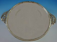 William De Matteo Sterling Silver Sandwich Tray with Lily #212H (#1416)