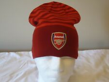 ARSENAL OFFICIAL LICENSED PUMA REVERSIBLE BEANIE ADULTS NEW