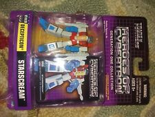 """Transformers Heroes of Cybertron G1 Starscream 3"""" Action Figure New  sk"""