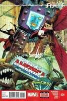 Captain America #24 Marvel Comics 1st Print 2014 Unread NM