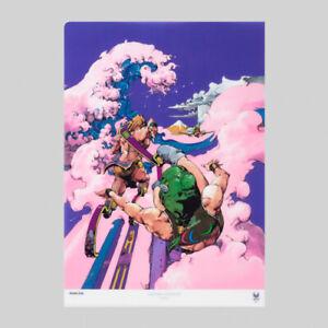 Tokyo 2020 Olympic Paralympic A4 clear files and postcards Design Hirohiko Araki
