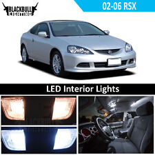 White LED Interior Light Accessories Kit MAP DOME for 2002-2006 Acura RSX 6 Bulb