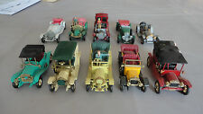 LOT DE 10 TACOT VEHICULE ANCIEN MODELS OF YESTERYEAR VIEILLES VOITURES MATCHBOX