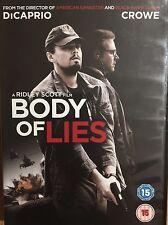 Body Of Lies 2008 DVD Leonardo DiCaprio Russell Crowe