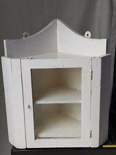 Vintage handmade Bathroom Corner Unit