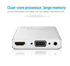 S8 Pro HDMI Splitter Ezcast Dongle Screen Share Mirroring Display 1080P Silver