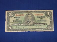 $1 Bank Note from Canada Issued 1937 SNZ/A 8147550