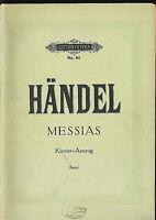 """Händel - """" Messias """"  Klavierauszug"""