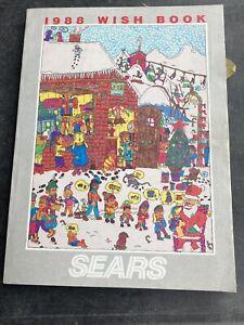 1988 Sears WISH BOOK Christmas Catalog-Atari- Nintendo-Sega-GI Joe-Transformers