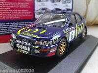 #6 1995 Subaru Impreza 555 RAC Burns Reid Diecast Model Car 1/43 Corgi Vanguards