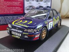 #6 1995 SUBARU IMPREZA 555 RAC BURNS REID Modello Diecast Auto 1/43 CORGI Vanguards