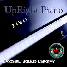 KAWAI Upright Pianos - HUGE WAVE Multi-Layer Studio Samples Library 1.2GB on DVD