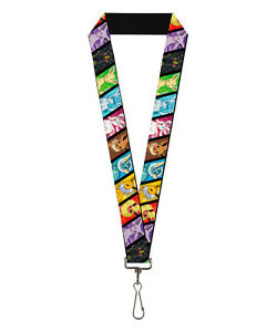 Pokémon Eevee Evolutions Repeat Lanyard