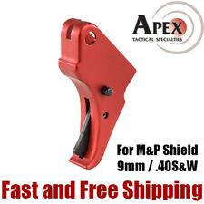 Apex Tactical M&P Shield 9mm & 40S&W Action Enhancement Aluminum Trigger – Red