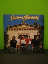 Suicidal Tendencies How Will I laugh Tomorrow LP Flat Promo 12x12 Poster