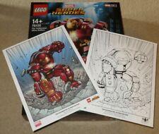 LEGO 76105 - MARVEL - HULKBUSTER: ULTRON EDITION - NEW & SEALED + LTD ED ARTWORK