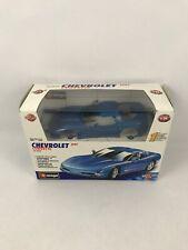 Bburago 1997 Chevrolet Corvette DIY Metal Model Kit 1:24