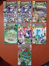 ARCHIE COMICS 1989 TEENAGE MUTANT NINJA TURTLES NM 7 BOOKS #1 X2 ,2,3,4,5,6 TMNT
