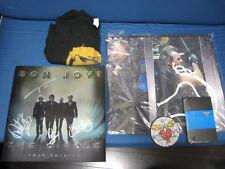 Bon Jovi The Circle 2010 Signed Tour Book Necklace T-Shirt Flag Diary for VIP