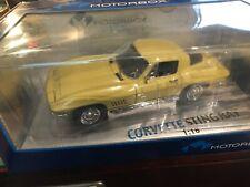 1/18  EXOTO MOTORBOX 1967 CORVETTE - SUNFIRE YELLOW - ABSOLUTELY BRAND NEW!!