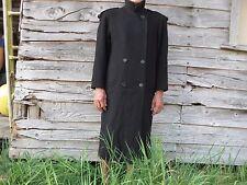 Women's long black wool blend Worthington coat size 12P