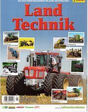 Land Technik / 1 x Leeres Sticker Album / Panini / Neu