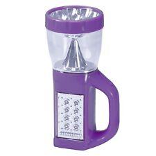 Wakeman Outdoors 3 in 1 LED Camping Lantern Flashlight 8 x 3 In. AA's Purple
