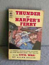 THUNDER AT HARPER'S FERRY Allan Keller ACE BOOKS D-395 CIVIL WAR