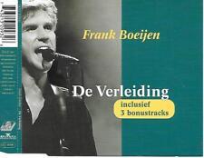 FRANK BOEIJEN - De verleiding CD-MAXI 4TR Holland 1995 (Ariola)