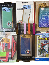 Apple iPhone 5 / 5s Phone Case Lot Of 7 -Spider, Tech 21, Belkin Arm Band & More