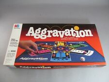Aggravation Marble Race Board Game Milton Bradley 1989