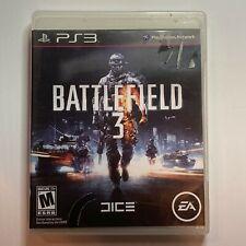 Battlefield 3 PS3 Sony PlayStation 3 Video Game Complete & Tested Ships Fast