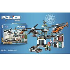 Xingbao 10001 Police Operational Command Building Block Set 1323 pieces