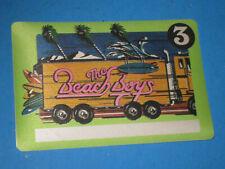 unused The Beach Boys Pass cloth sticky back 3R3
