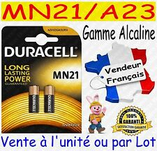 4 Piles Duracell Mn21 A23 K23a V23ga - 12v DLC 2020 blister