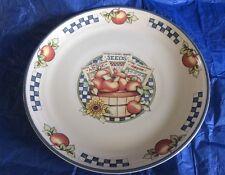 "International China Appletime Pattern Dinner Plate 11"""