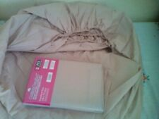 BN Double Fitted Sheet & 2 Pillowcases In Beige