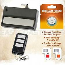 Garage Door Gate Remote Opener for LiftMaster 950CB 953CB 971LM + Car Keychain