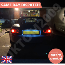 Mazda MX-5 MK2 NB Red LED /'Trade/' Wide Angle Side Light Beam Bulbs Pair Upgrade